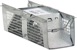 Havahart 1020 Live Animal Two-Door Mouse Cage Trap Galvanize
