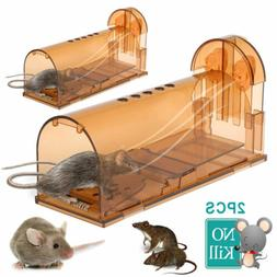 2PK Humane Mouse Trap Live Catch and Release Smart No Killin