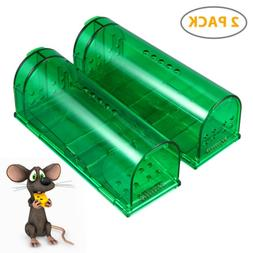 2x Humane Mouse Trap Live Catch and Release Smart No Killing