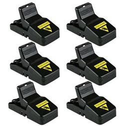 6pc Home Mouse Traps Rat Mice Squirrel Killer Snap Power Rod