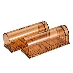 Authenzo Humane Smart No Kill Mouse Trap Catch and Release,