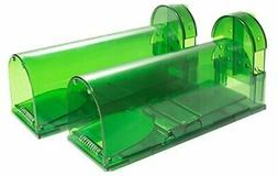 2 Piece Humane Smart Mouse Trap Live Catch and Release Roden