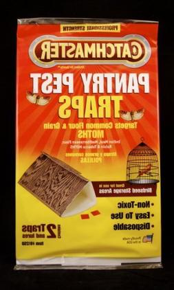 Catchmaster Food & Pantry Moth Traps for Indian Meal Moths,