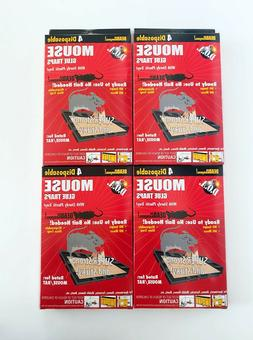Glue Mouse Trays 4pk Size Ea