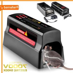 Electric Rodent Zapper Electronic Mouse Trap Victor Control
