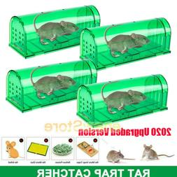 Humane Mouse Trap Reusable Cage Box Rodent Free Live Trap Ra