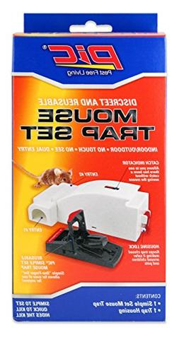 PIC Indoor/Outdoor Mouse Trap Kit