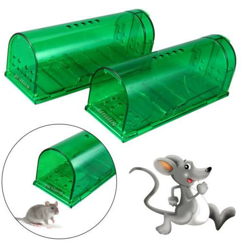 Upgrade Humane Smart Mouse Traps Harmless Live Catch Release