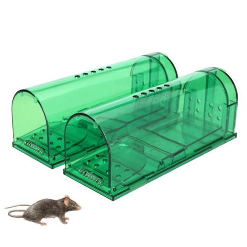 2x Humane Rat Live Cage Mice Rat Catch and