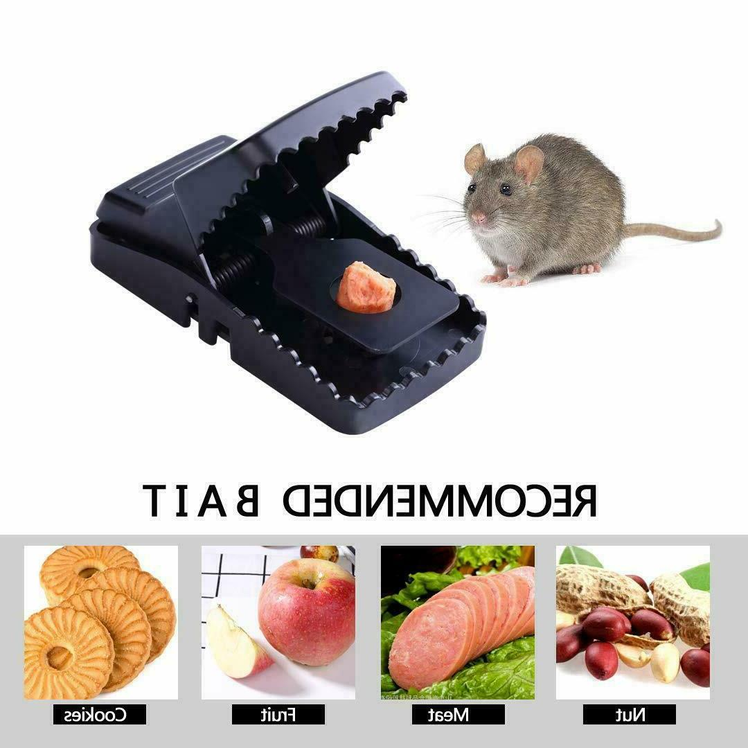 6pc Rat Mice Snap Squirrel Killer Power Rodent Reusable Catcher