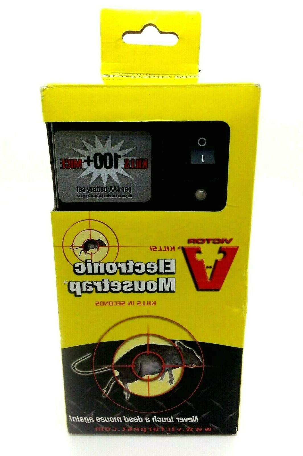 electronic battery operated reusable electric shock mouse