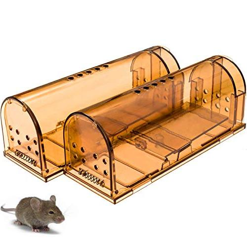 CaptSure Upgraded Smart Mouse Safe, Easy to for Reusable, for Small Rodents/Voles/Hamsters/Moles. That Works.
