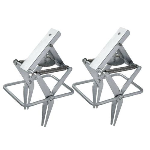 Pair Galvanized Steel Sturdy Large-Sized Mole and Gopher Sci