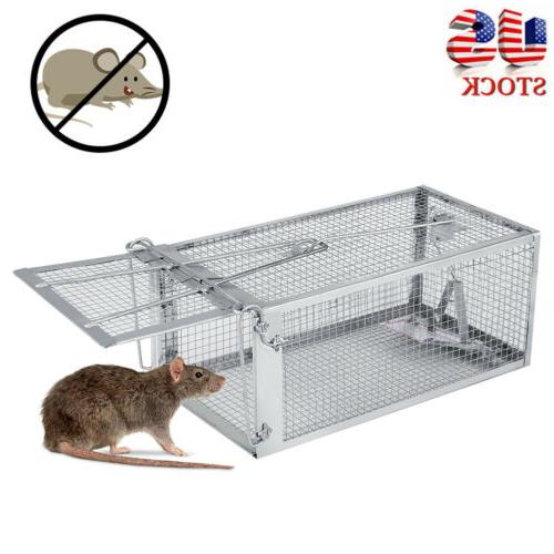 Rat Trap Cage Live Animal Mouse Control Catch Hunting Trap