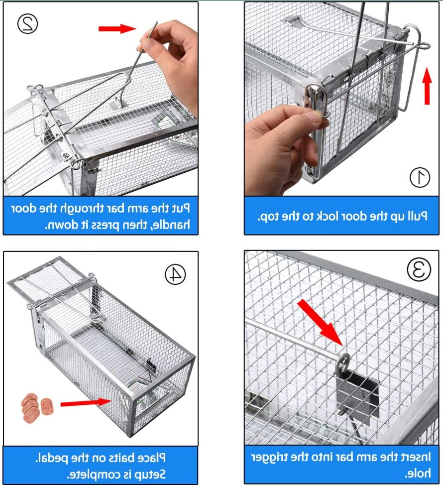 Rodent Cage for Chipmunk Rabbit Cage 10.5X5.5