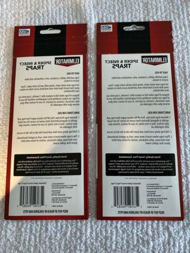 Eliminator and Traps 2pc 2 4 Count Mice Ants Roaches