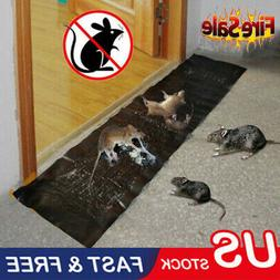 Large Size Mice Mouse Rodent Glue Traps Board Super Sticky R