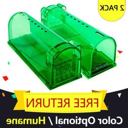 Live Catch Humane Mouse Trap No Kill Reusable Smart Rat Rode