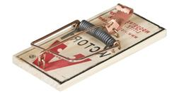 Victor M154 Metal Pedal Mouse Trap, Pack of 8