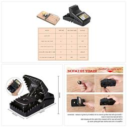 Authenzo Mouse/Rats Trap, Rats/Mice Trap That Work Humane Po