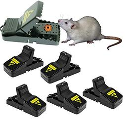 Hirate Mouse Trap Rats/Mice/Rodents Snap Traps That Work Qui