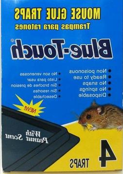 Mouse Traps Glue Boards Peanut Butter Scented Mice Insects R