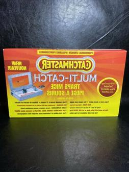 ** NEW Catchmaster Mechanical Metal Multi-Catch Mice Trap HU