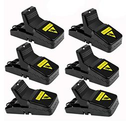 Highlight 6 Pack-Pest Control Mouse Traps, Small Mice Traps