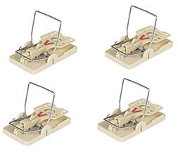 Victor Power Kill Mouse Trap, 4-Pack - Professional Design