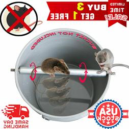 Stainless Steel Mice Rats Mouse killer Roll Trap log Grasp B