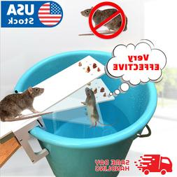 The Walk Plank Mouse Trap - Auto Reset Squirrel Rats Bait Ro