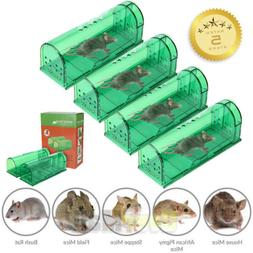 Upgrade Humane Smart Mouse Traps No Kill Live Catch Release