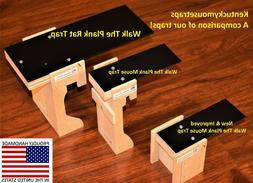Walk The Plank Mouse Trap & Rat Trap - Auto Reset - USA MADE