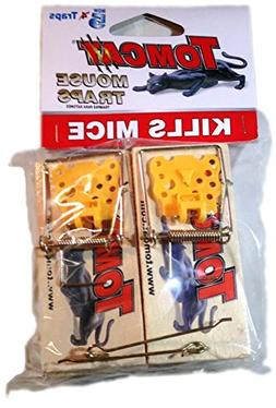 Tomcat Wooden Mouse Traps, New 5 Pack!