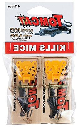 Tomcat Wooden Mouse Traps, 8-Pack
